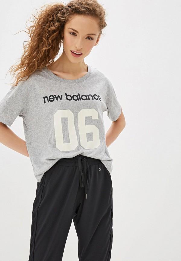 Футболка New Balance New Balance NE007EWFNIT4 футболка new balance new balance ne007emfniq7