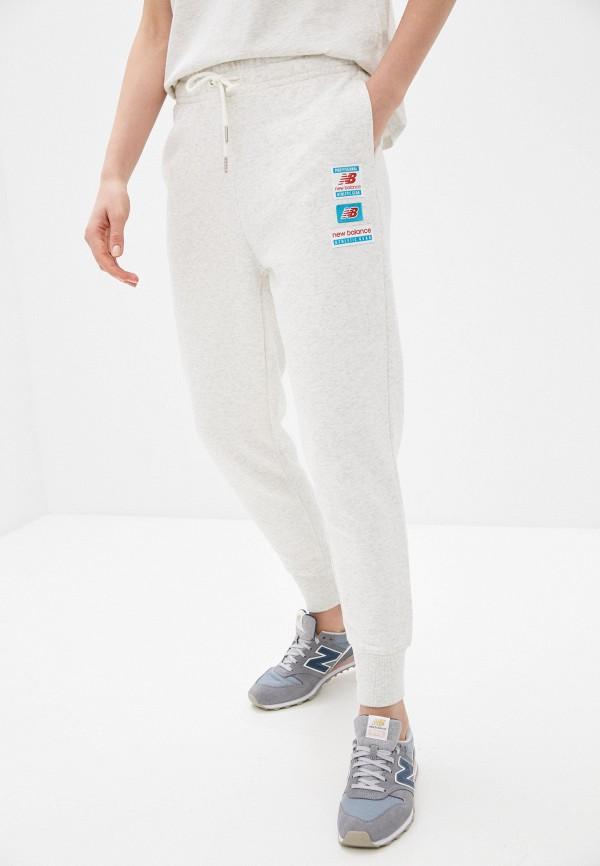 женские спортивные брюки new balance, серые