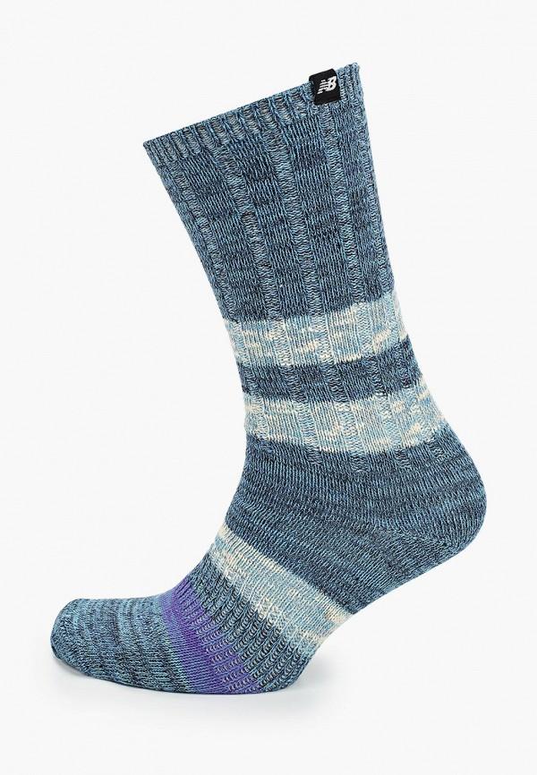 женские носки new balance, синие