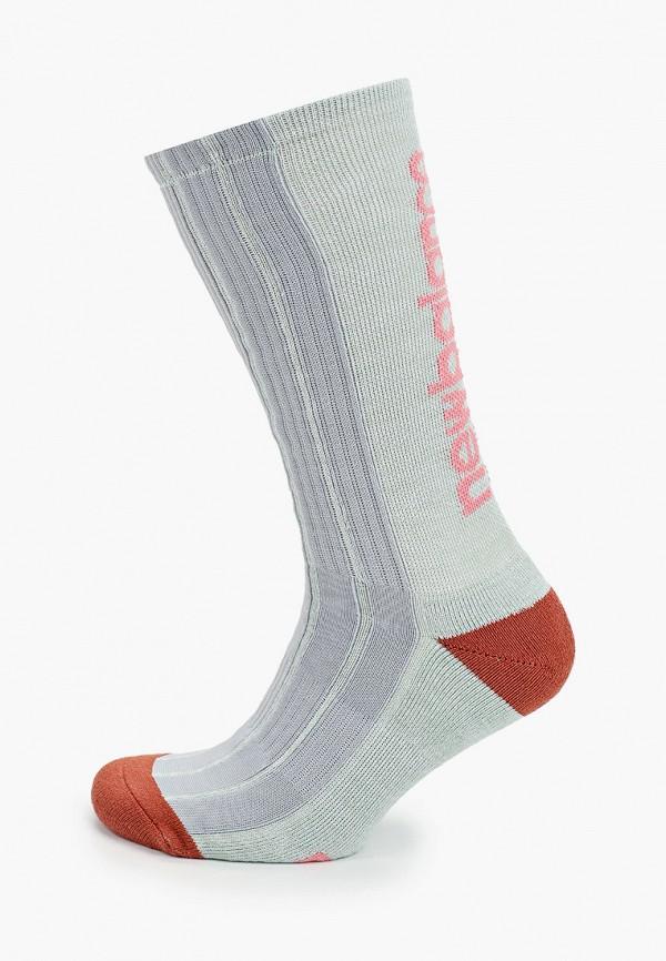 женские носки new balance, бирюзовые