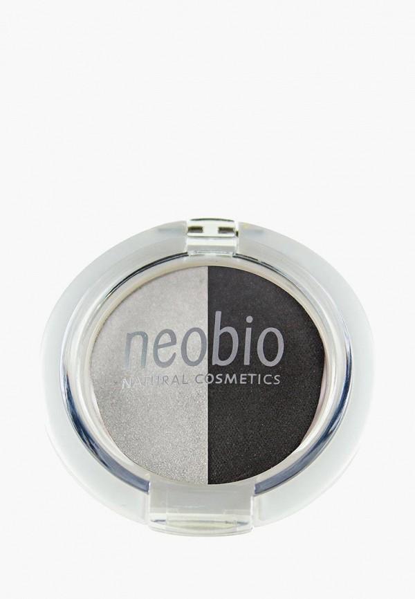 тени для век neobio, серый