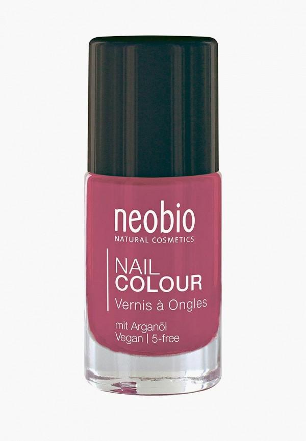 лак для ногтей neobio, розовый