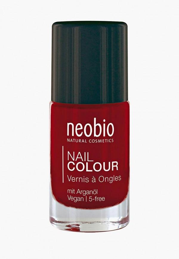 лак для ногтей neobio, красный