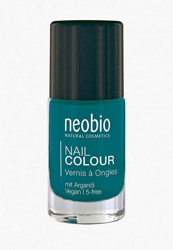 лак для ногтей neobio, синий