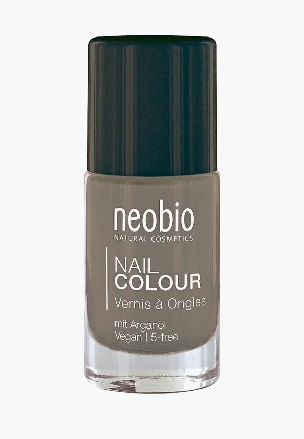 лак для ногтей neobio, серый
