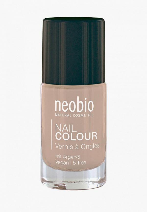 лак для ногтей neobio, бежевый