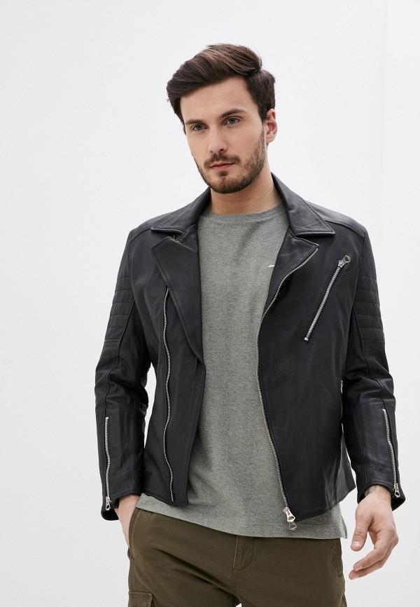 мужская куртка ne.ra collezioni, черная