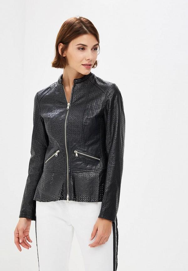 Купить Куртка кожаная Ne.Ra Collezioni, NE023EWCMKQ2, черный, Осень-зима 2018/2019