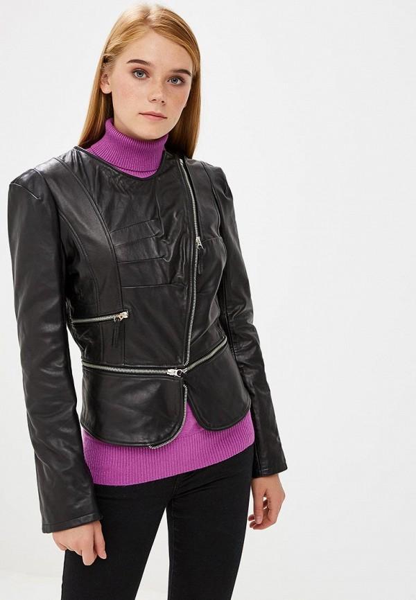 Купить Куртка кожаная Ne.Ra Collezioni, NE023EWCMKQ7, черный, Осень-зима 2018/2019