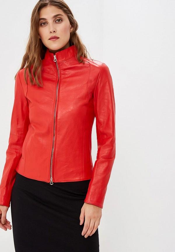 Купить Куртка кожаная Ne.Ra Collezioni, NE023EWCMKQ9, красный, Осень-зима 2018/2019