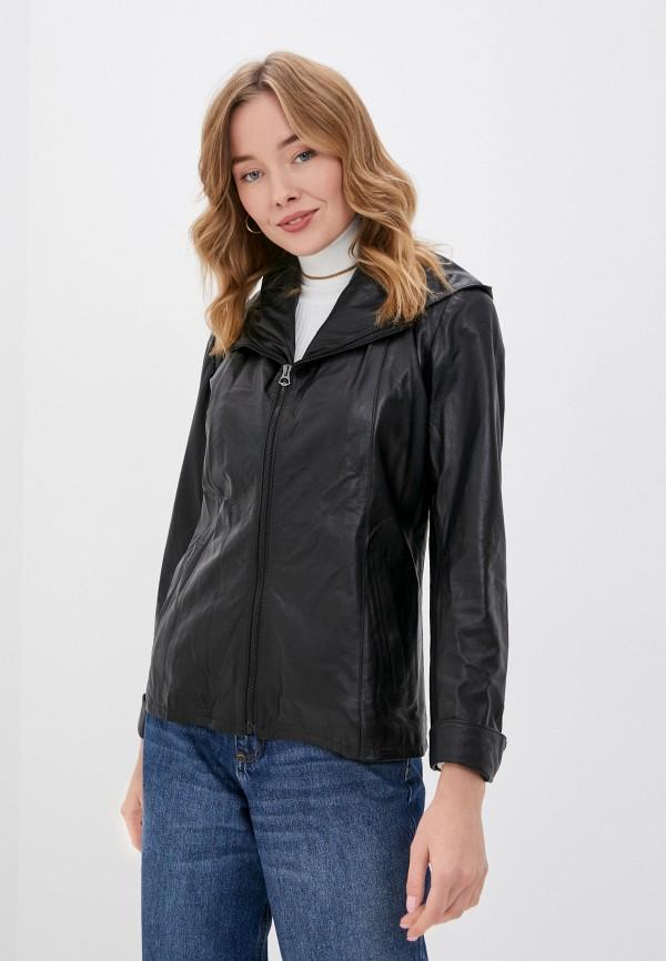женская куртка ne.ra collezioni, черная