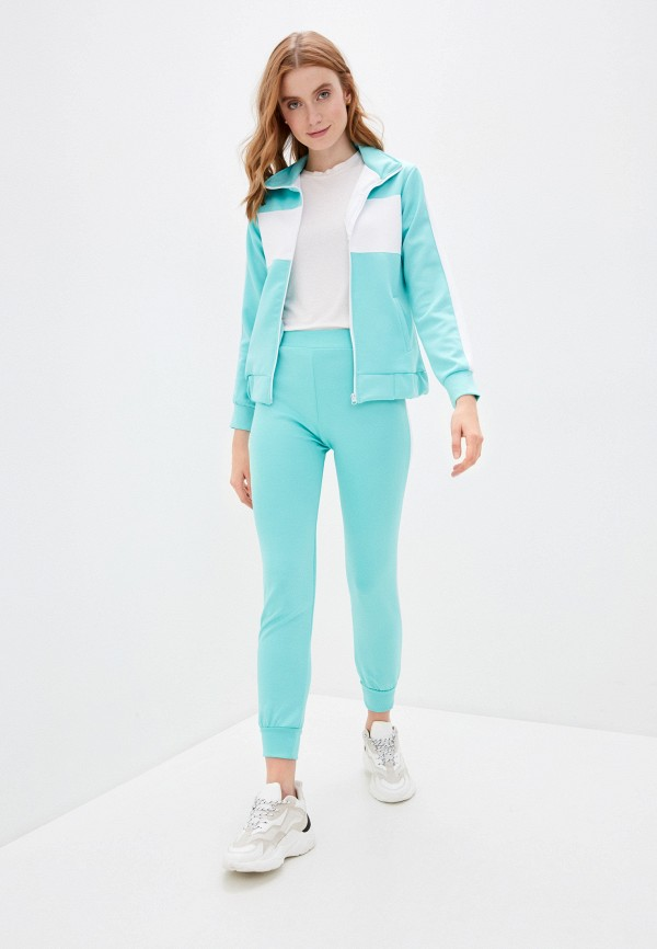 женский костюм nerouge, голубой