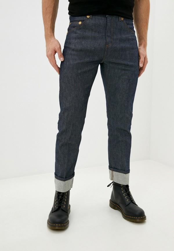 мужские прямые джинсы neil barrett, синие