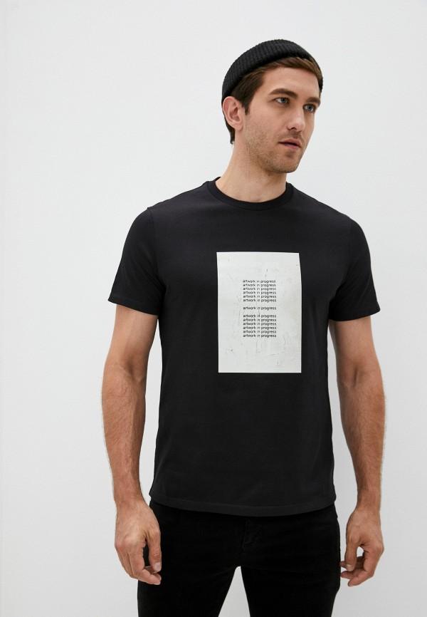 мужская футболка neil barrett, черная