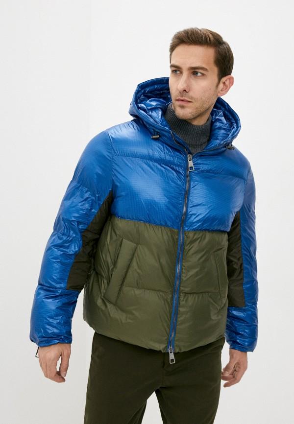 мужская куртка neil barrett, синяя