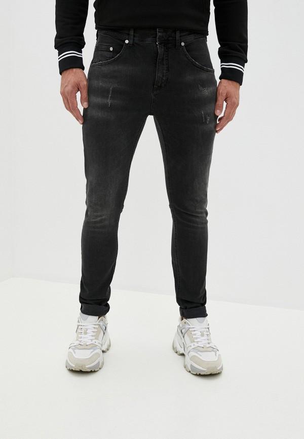 мужские зауженные джинсы neil barrett, черные