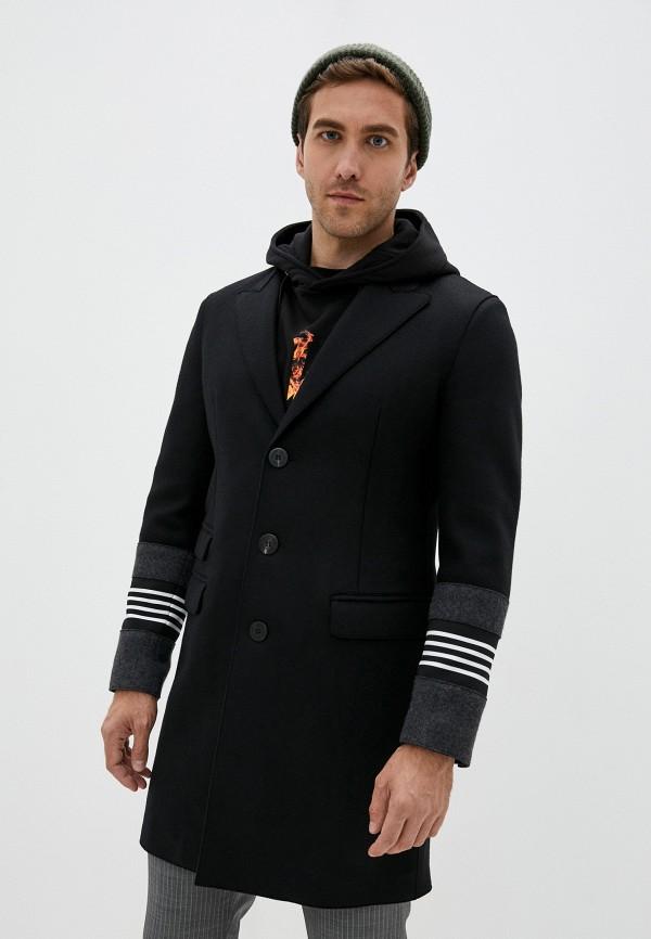мужское пальто neil barrett, черное