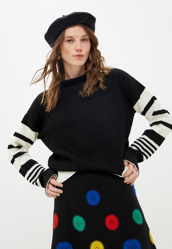 женский свитер neil barrett, черный