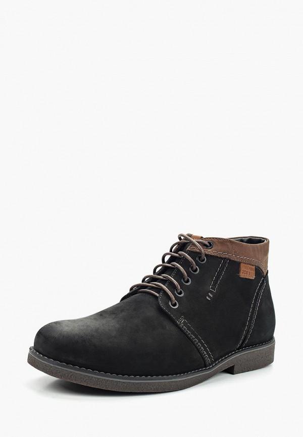 Фото - мужские ботинки и полуботинки Nine Lines черного цвета