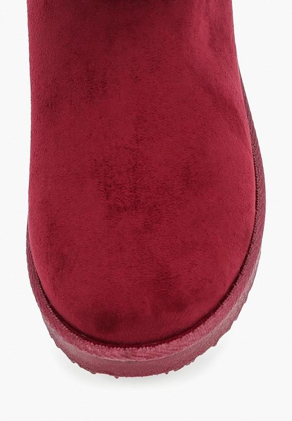 Фото 15 - Полусапоги Niweile бордового цвета