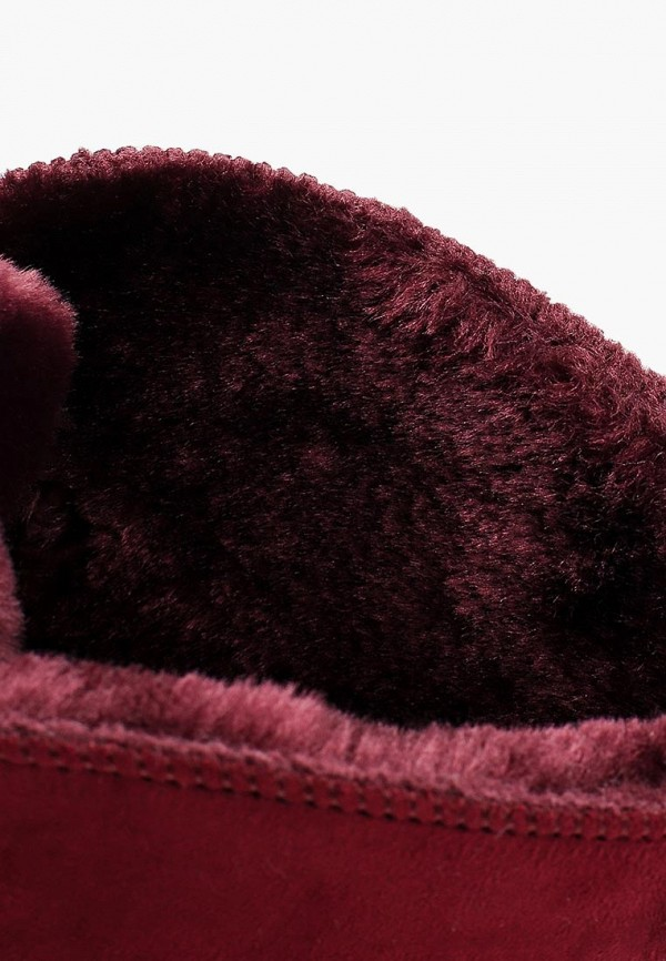 Фото 16 - Полусапоги Niweile бордового цвета