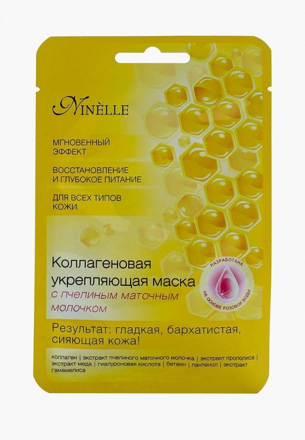 Купить Маска для лица Ninelle, Коллагеновая укрепляющая с пчелиным маточным молочком, NI025LWUWX43, Осень-зима 2018/2019