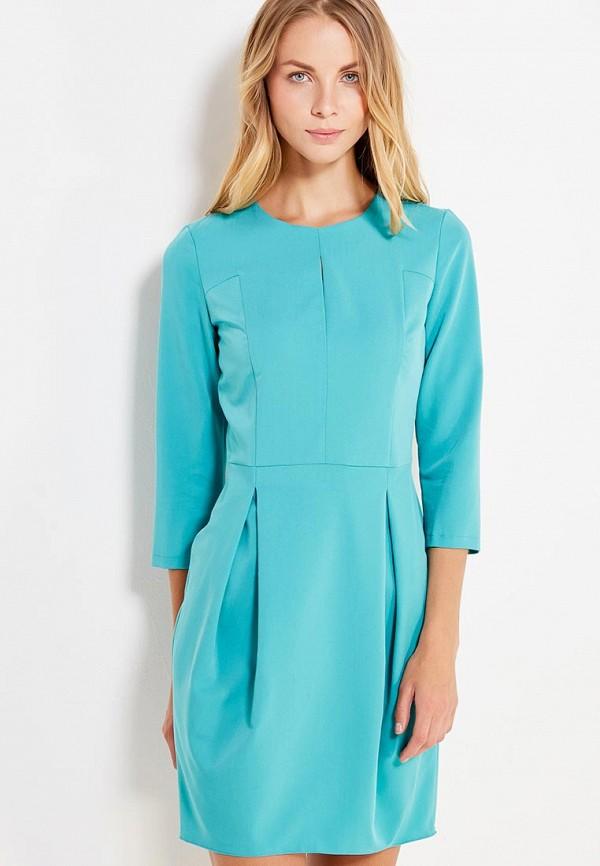 Купить Платье Nife, ni029ewvam72, бирюзовый, Осень-зима 2017/2018