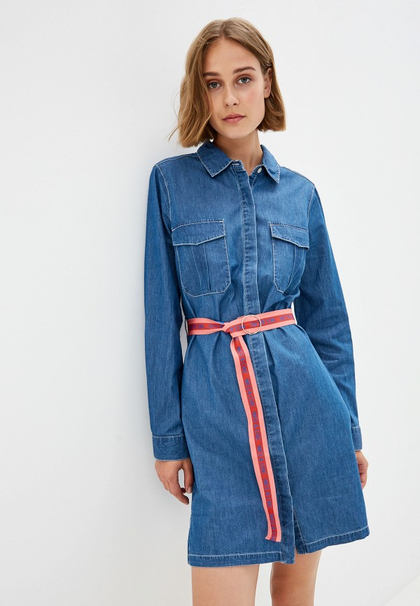 Платье джинсовое Nice & Chic Nice & Chic NI031EWEKXJ7 платье nice