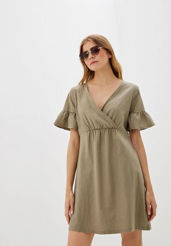 Платье Nice & Chic Nice & Chic NI031EWEKXK9 платье oodji ultra цвет темный хаки 14008020b 47999 6800n размер m 46