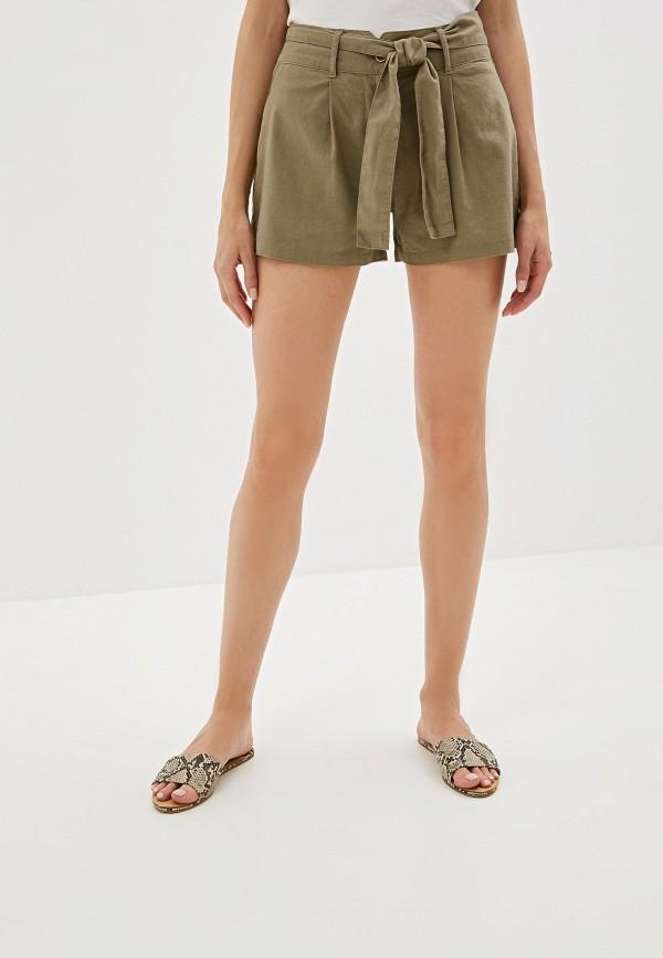 женские шорты nice & chic, хаки