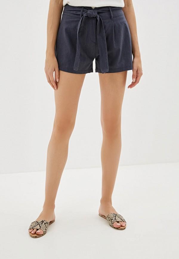 женские шорты nice & chic, синие