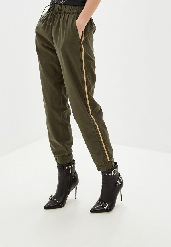 женские повседневные брюки nice & chic, хаки