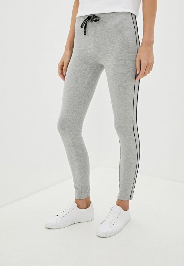 женские спортивные брюки nice & chic, серые