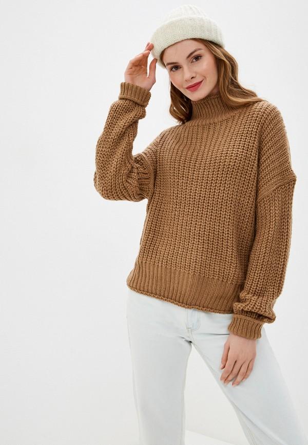 женский свитер nice & chic, бежевый