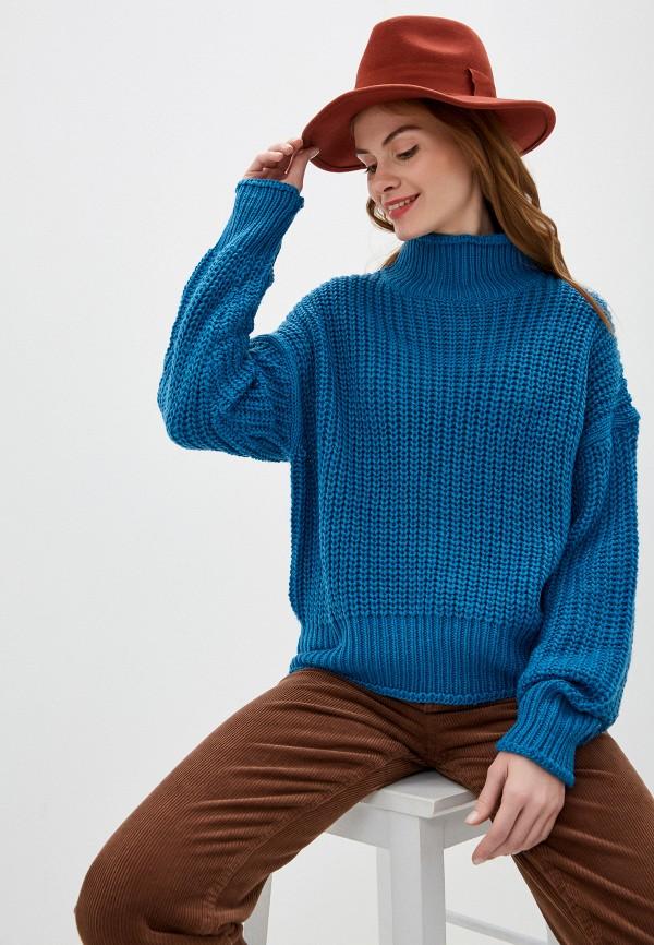 женский свитер nice & chic, синий