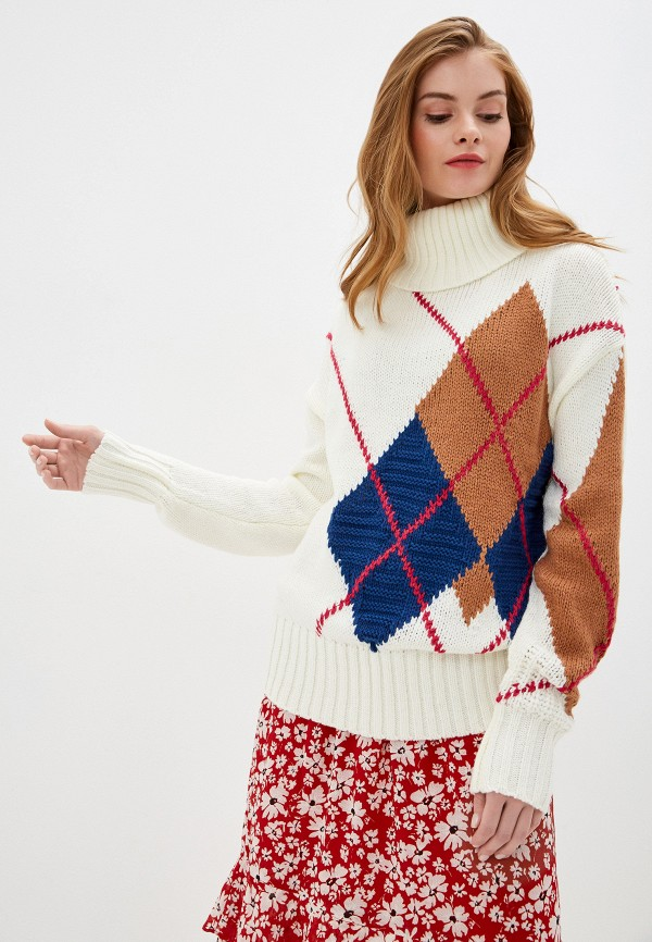 женский свитер nice & chic, белый