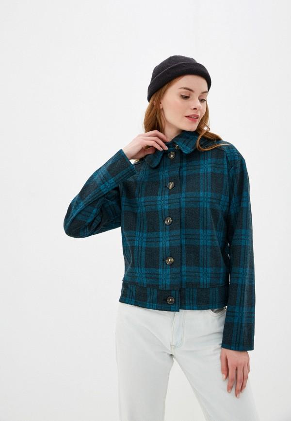 женская куртка nice & chic, синяя