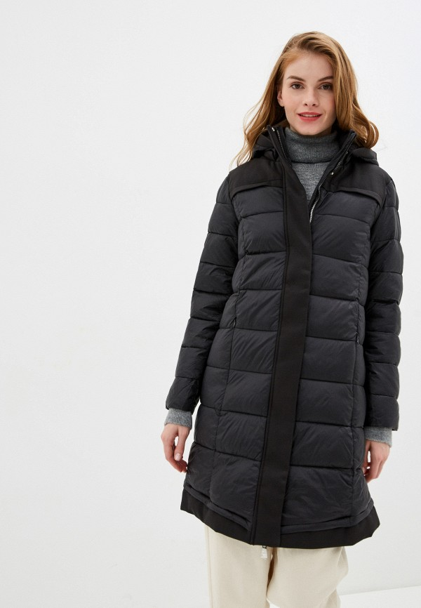 женская куртка nice & chic, черная