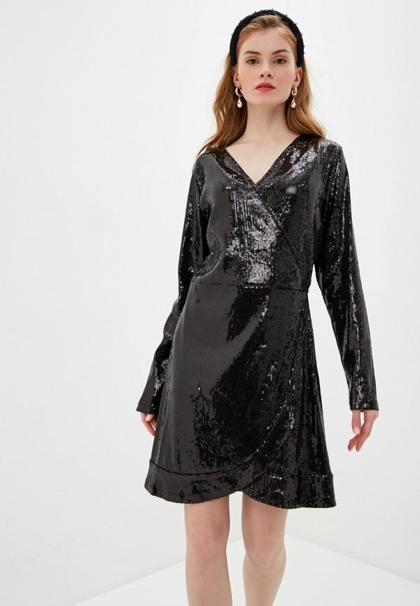женское вечерние платье nice & chic, черное