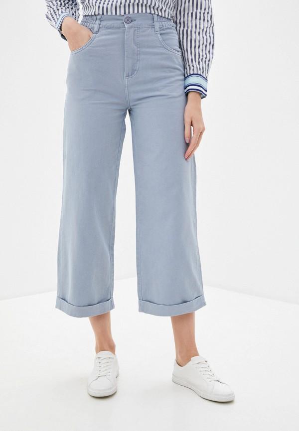 женские прямые брюки nice & chic, красные