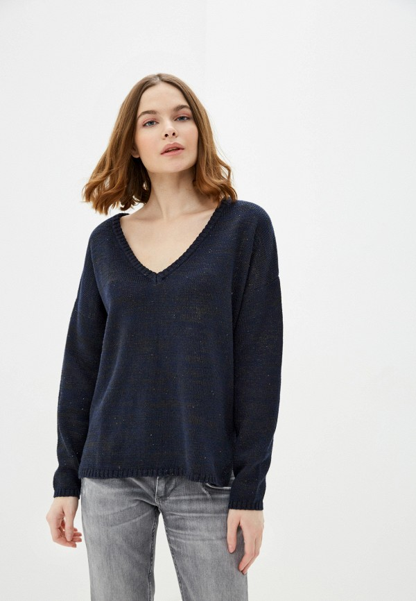 женский пуловер nice & chic, синий