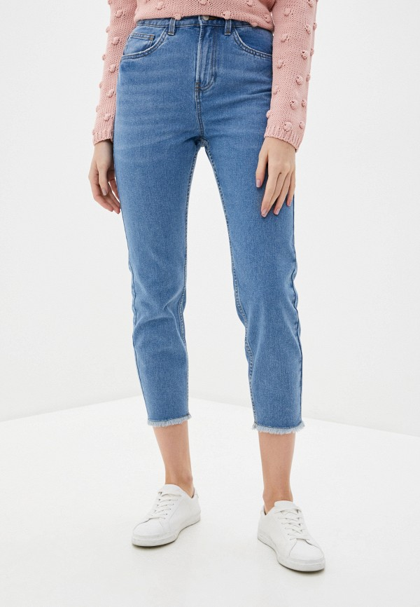 женские джинсы nice & chic, голубые