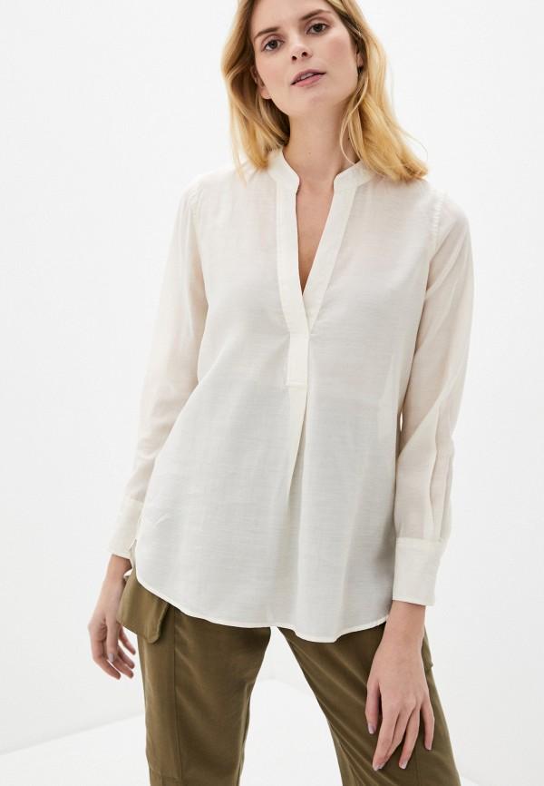 женская блузка nice & chic, бежевая