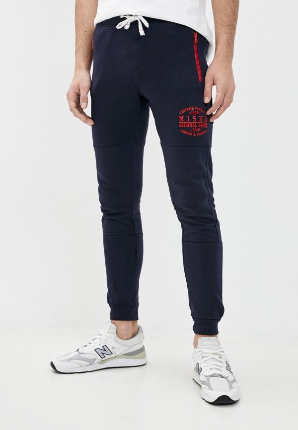 мужские спортивные брюки nisko, синие
