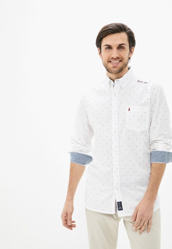 мужская рубашка с длинным рукавом nisko, белая
