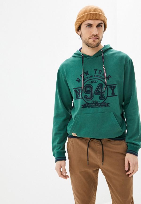 мужские худи nisko, зеленые