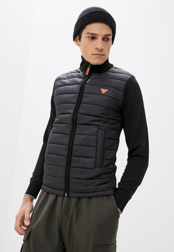 мужская куртка nisko, черная