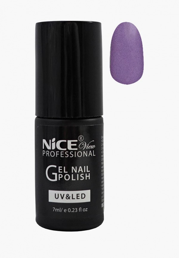 лак для ногтей nice view, фиолетовый