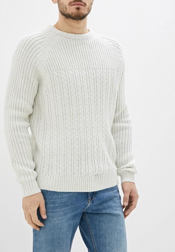 мужской свитер nines collection, белый