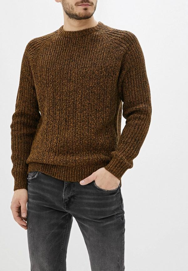 мужской джемпер nines collection, коричневый